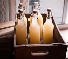 not a cake but still....Homemade Ginger Beer
