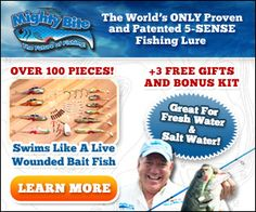 1000 images about fishing and mighty bite fishing lures for Fishing lure as seen on tv