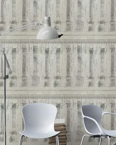 Colonnade Sand Wallpaper by Mind The Gap | Maison Margot