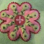Sue Spargo embellished flower