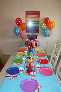 Over the Rainbow Birthday Party Ideas | Photo 5 of 8 | Catch My Party