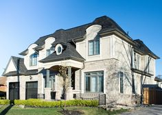 Corner homes mean double the exterior facing windows that will be seen, put your best foot forward with Custom Window Designs Greater Toronto Area, Window Replacement, Custom Windows, Window Design, Ontario, Corner, Exterior, Homes, Mansions