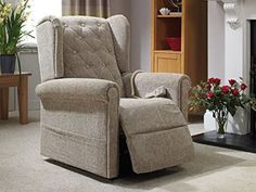 Basswood rise and recliner chair - Sometimes, the simple things in life are the best. This is certainly true of our Basswood rise and recliners, which are the perfect choice for those seeking a refined and unassuming chair for their living room. The Basswood has been crafted in a classic style with wings for extra head support and a sleek button-back that complements the traditional design. Recliner Chairs, Recliners, Armchair, Oak Tree, Simple Things, Traditional Design, Classic Style, Wings, Living Room