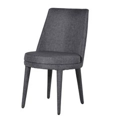 Fabric Dining Chair in Grey