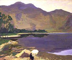 Loch Katrine  Sir John Lavery, R.A. - 1913