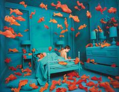 Sandy Skoglund (b. 1946), 'REVENGE OF THE GOLDFISH' - Sotheby's