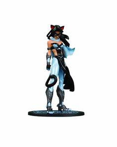 DC Direct Ame-Comi Heroine Series: Catwoman (V.2) Blue Suit Variant PVC Figure