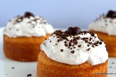 Olive Oil Cake with Cherry Whipped Cream and Dark Chocolate Shavings for Boston Bakes for Breast Cancer #hgeats