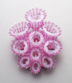Eunju Park Brooch: Inflate 1, 2012 925 silver, nylon (fishing thread), plastic 110 x 138 x 55 mm