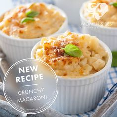 A low-fat version of everyone's favorite comfort food. You can't go wrong with macaroni and cheese!