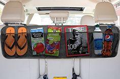 Amazon.com: BackSeat/Trunk Organizer By Lebogner - 5 Pocket Auto Interior, Perfect Car Organizer, Trunk Organizer, Backseat Organizer, Multipurpose Cargo Accessories Organizer, Back Seat Storage Organizer: Automotive