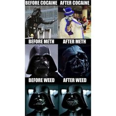 "Les ravages de la drogue illustrées façon ""Star wars""…  #starwars #drogues"