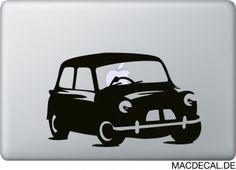 Für alle Mini Cooper Liebhaber! #macbooksticker  http://www.macdecal.de/autos-flugzeuge-schiffe-sticker/macbook-sticker-aufkleber-mini-cooper.html