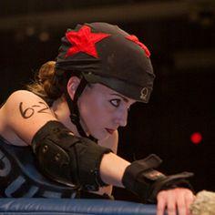 Lynnie Bruise, las Putas del Fuego - TXRD One of my BIGGEST derby idols\inspirations.