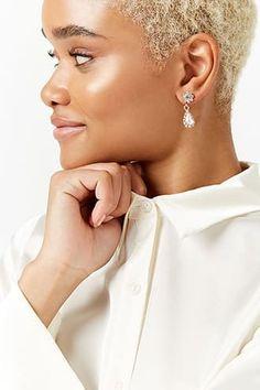 Diamante Drop Earrings Jetzt bestellen unter: https://mode.ladendirekt.de/damen/schmuck/ringe/diamantringe/?uid=85119374-2198-5029-a6f2-4169e2cd9da0&utm_source=pinterest&utm_medium=pin&utm_campaign=boards #schmuck #ringe #women's #accessories #clothing #diamantringe Bild Quelle: forever21.com