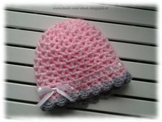 Steek voor steek: Patroon babymutsje Knitting For Kids, Crochet For Kids, Diy Crochet, Knitting Projects, Crochet Baby, Crochet Projects, Crochet Winter, Baby Boots, Kids Hats