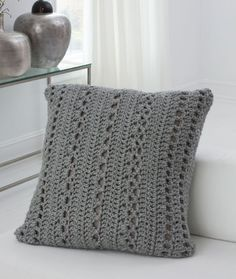 Big & Cozy Floor Pillow Free Crochet Pattern from Red Heart Yarns                                                                                                                                                                                 More