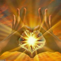 You have the power of God within. It means you have the Kingdom of God within you. Look deep inside of you; you will then eventually find something beautiful in your mind, something good in you, or something eternal. by Master Ryuho Okawa Healing Heart, Healing Hands, Healing Light, Simbolos Do Reiki, Reiki Meditation, Coeur Gif, Flame Art, Visionary Art, Sacred Art