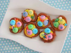 Crafts a la mode : Easter Pretzel Candies how to