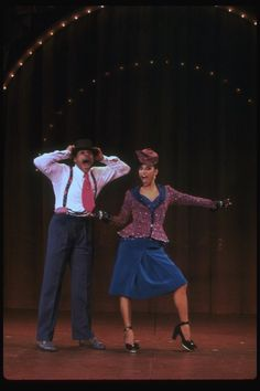 "1978, Debbie Allen and Alan Weeks performing ""How Ya Baby"" in a scene from the Broadway production of the musical ""Ain't Misbehavin'."" (New York)"
