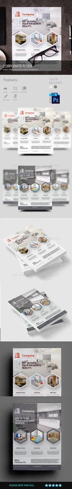 Brochure Finance And Business TriFold A Pinterest Tri Fold - Property management brochure templates