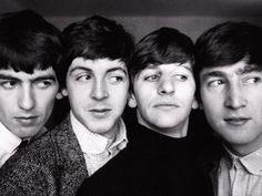 —The Beatles: George, Paul, Ringo & John
