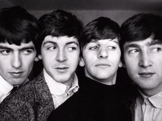 The Beatles: George, Paul, Ringo & John