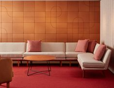 Rockwell Unscripted Modular Lounge inspires hospitality at every turn   Knoll