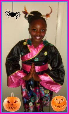 Brittnay from Enterprise, Al as a Little Geisha