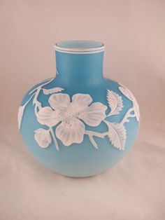 Webb Cameo Glass Vase