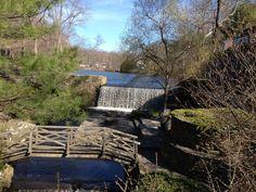Millers Mill Garden Bridge, Outdoor Structures, York, House Styles, Beautiful