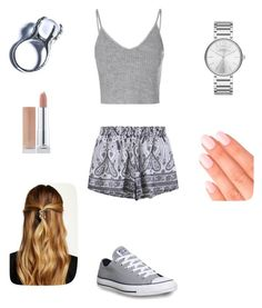 """""""just because"""" by veronicaleigh777 on Polyvore featuring Glamorous, Converse, Kill Star, Marc by Marc Jacobs, Elegant Touch and Natasha Accessories"""