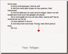 Goede De 49 beste afbeeldingen van Toon Tellegen | Gedichten, Woorden XI-39