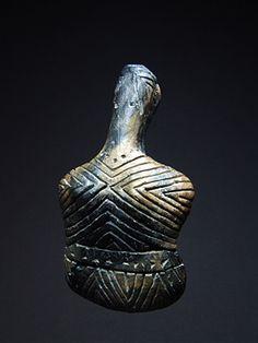 Όστρακο Αρχαία Τέχνη, της Ανατολίας Caykenar Idol