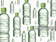 ストックフォト : Plastic bottle of mineral water