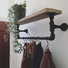 Industrial Style, Industrial Living, Student Room, Old Room, Home And Living, Cool Furniture, Home Remodeling, Shelving, Decoration