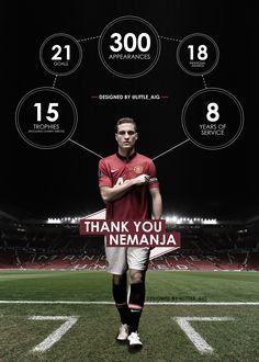 Thank you for eight glorious years. We're going to miss you. There's only one Vidic - captain fantastic Manchester Unaited, Manchester United Wallpaper, Manchester United Legends, Manchester United Football, Football Ads, Free Football, Best Football Team, Football Fight, Football Boots