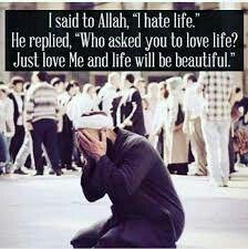 Sieh auf Allah, und alles andere geht von selber in Ordnung. Vertrau auf Gott.