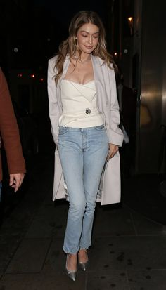 Gigi out and about in London, November Gigi Hadid Body, Gigi Hadid Looks, Bella Gigi Hadid, Gigi Hadid Style, Gigi Hadidi, Celebrity Outfits, Celebrity Style, Celebrity Fitness, Gigi Hadid Outfits