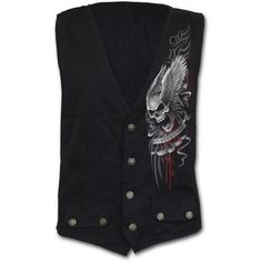 Sale ASCENSION Gothic Waistcoat Four Button with Lining Shop Online From Spiral Direct, Gothic Clothing, UK