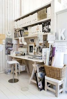 You don't have to have to dedicate an entire room to create an aesthetically pleasing and functional home office space. There are tons of cool, c...
