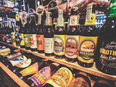 Brew Beers and Ciders' craft beer selection (Tamara Hinson)