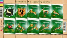 Evolution of Springbok rugby emblem over the years Small Letters, Rugby League, Over The Years, Evolution, Lettering, Logos, Storms, Legends, Logo