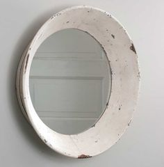 Dutch Round Rustic Shabby Chic Tin Wall Mirror Primitive Cottage Farmhouse If you are looking for a mirror to add to your country farmhouse home this is it ! you will just love this mirror. New Rustic Farmhouse Wall Mirrors, White Wall Mirrors, Rustic Wall Mirrors, Round Wall Mirror, Diy Mirror, Round Mirrors, Glass Mirrors, Mirror Vanity, Hallway Mirror