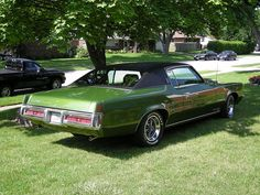 1969 Pontiac Grand Prix  My husbands Mother had one just like this. This was the car that started him to love Pontiac's