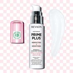 Exciting news to share! 🗣 Revlon's NEW #PrimePlus PERFECTING + SMOOTHING 💗 Makeup + Skincare #Primer is the first global mass beauty product to receive the prestigious Environmental Working Group verified mark! 🌎