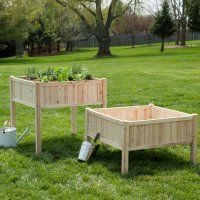 planter/ could use as sand table first then turn into raised bed