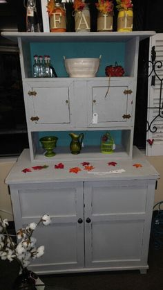 Dixie Belle Sea Spray and driftwood chalk paint