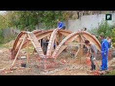 Возведение кирпичного свода на нервюрах   Дачное видео: первый интернет-канал о Даче и Доме