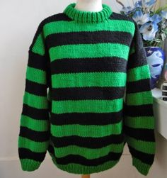 c5f901959ad3 Emerald Oil Hand knitted unique design you will not see anywhere else but   bexknitwear.